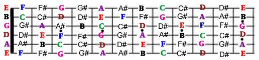 Beginner Guitar Lesson – How to Find the Notes on the Fretboard