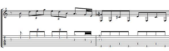 Blues-Pentatonic-Guitar-Lick-in-the-key-of-E-Blues-Guitar-Lesson