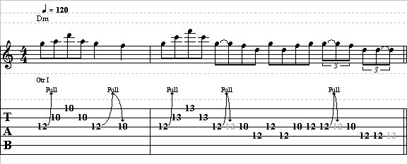 Easy Blues Lick in the Style of Jimi Hendrix