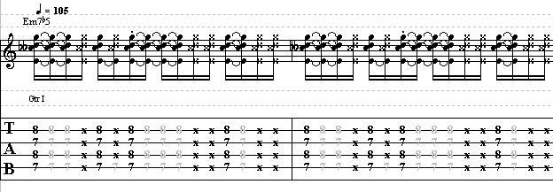 Funk Guitar Strum