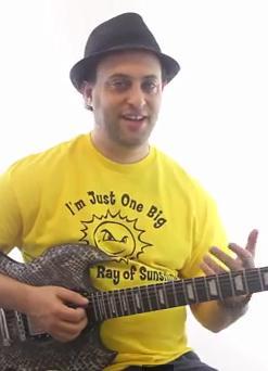 Guitar Scales Lesson -- Minor Pentatonic