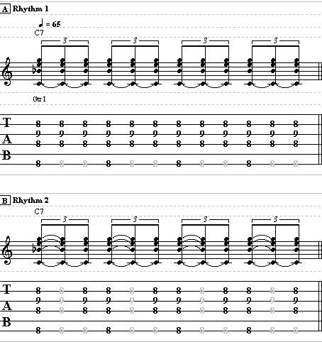 Easy Blues Comping – Electric Blues Guitar Lesson