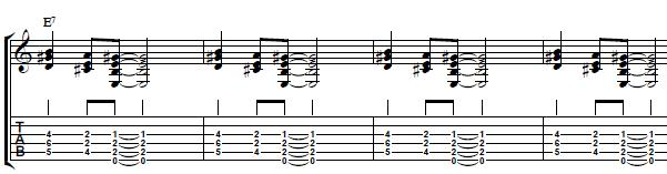 Blues-Comping-Over-a-12-Bar-Chord-Progression-in-the-key-of-E-Electric-Blues-Guitar-Lesson