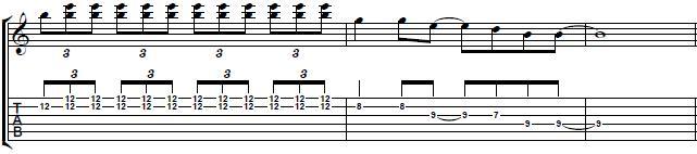 E7-Blues-Guitar-Lick-With-Slide-Technique-Blues-Guitar-Lesson