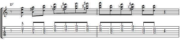 Guitar Lick with Interval of 5ths in the Style of George Benson -- Jazz Guitar Lesson