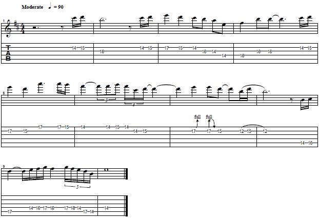 How to Play the Guitar Solo From Angel by Judas Priest - Lead Guitar Lesson