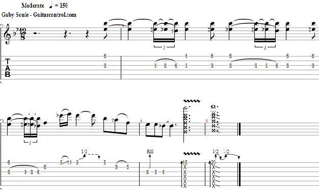 Blues Lick with Double -- Easy Blues Guitar Lesson
