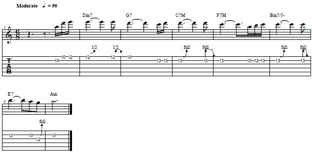 Learn How to Play I Still Got the Blues´s Guitar Riff by Gary Moore - Lead Guitar Lesson