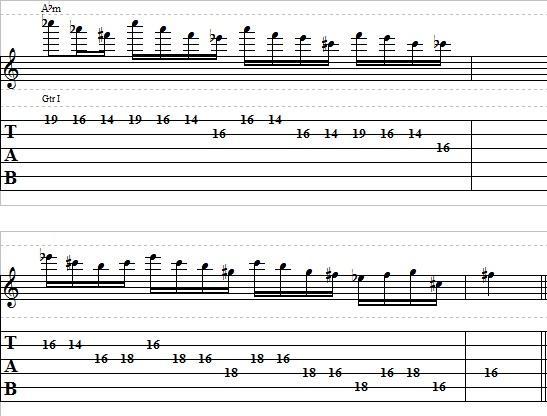 Easy-Blues-Pentatonic-Lick-in-Ab-–-Lead-Guitar-Lesson-on-Blues-Licks