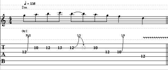 Easy Dorian Guitar Lick in D – Lead Guitar Lesson on Dorian Licks part 2
