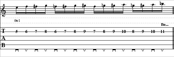 Basic Guitar Lick with Chromatic Patterns – Lead Guitar Lesson on Chromatic Licks – Part 2