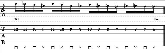 Basic Guitar Lick with Chromatic Patterns – Lead Guitar Lesson on Chromatic Licks