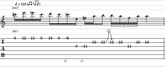 Easy Blues Jazz Lick For Electric Guitar - Blues Guitar Lesson
