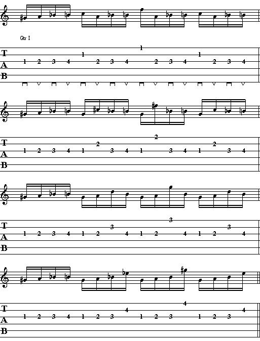 Cool Accent Picking Exercise