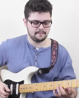 Intervallic Lick with Pentatonic Scale in G Minor - pic